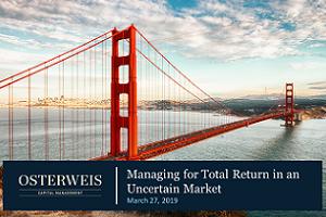 Webinar REPLAY - Managing for Total Returns in an Uncertain Environment
