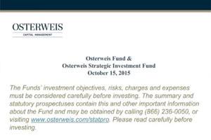 July 26 Webinar REPLAY: Osterweis Fund & Osterweis Strategic Investment Fund Q2 Update